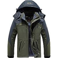 Vcansion Men's Waterproof Mountain Snow Jacket Raincoat (Multiple Color)
