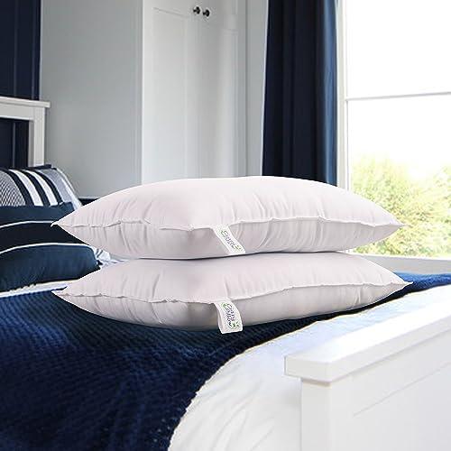 "Snoopy Fibre Filled 2 Piece Pillow Set - 16"" x 24"", Antique White"