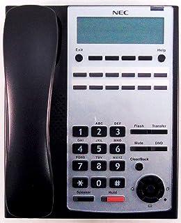 Nec IP4WW12TXH 2 Button Phone (Black)