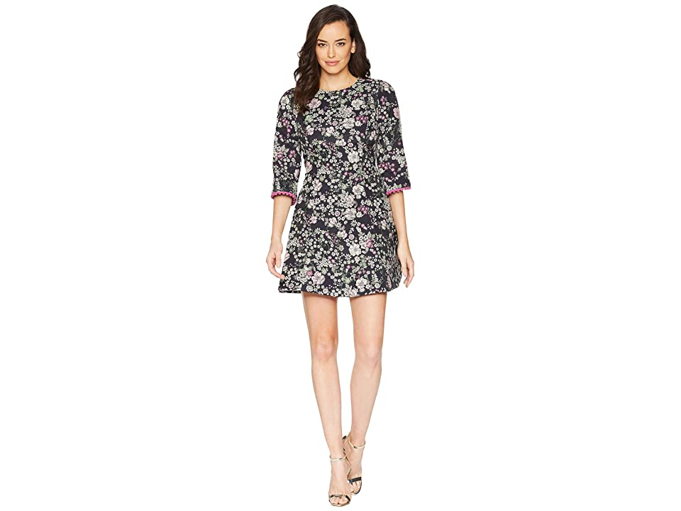 Laundry by Shelli Segal Floral Print Fit and Flare Dress (Multi) Women