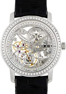 Traditionnelle Manual-Winding Ultra-Thin Skeleton Watch 33558/000G-9394