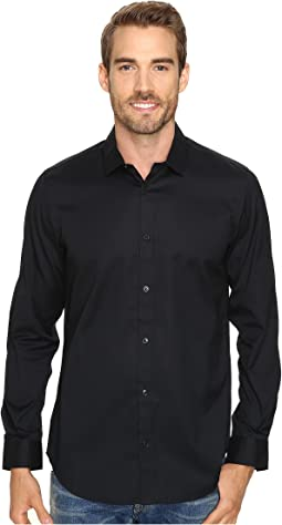 Calvin Klein Long Sleeve Infinite Cool Button Down Oxford Shirt