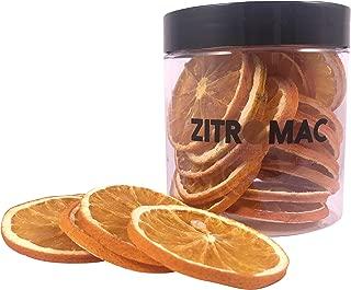 Naranja deshidratada para cóctel. Fruta deshidratada sin az