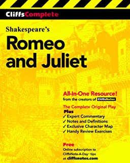 CliffsComplete Shakespeare's Romeo and Juliet