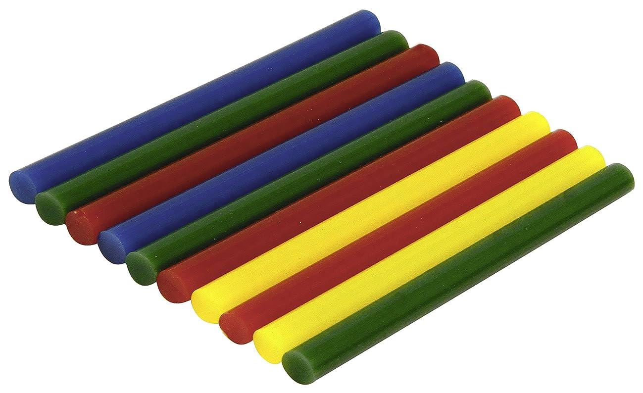 Rolson 61212 Mini Colour Glue Sticks, Multi