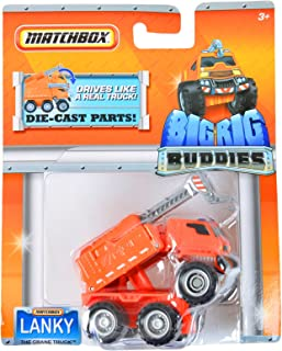 Matchbox Big Rig Buddies Lanky The Crane Truck