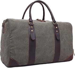 MINGMIN-DZ Mode Reisetasche Leinwand mit großer Kapazität Retro-Querschnitt tragbare Diagonale Reisetasche Unisex