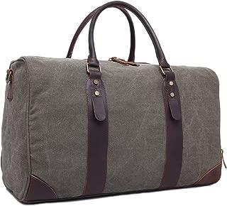 Shoulder Handbag Travel Bag Canvas with Large-Capacity Retro Cross-Section Portable Diagonal Travel Bag Unisex Mens Shoulder Bag Casual Crossbody Bag (Color : Bronze, Size : L)