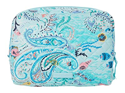 Vera Bradley Iconic Large Cosmetic (Paisley Wave) Cosmetic Case