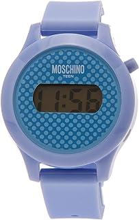 Moschino Orologio al Quarzo Digital Teen Lilla 32 mm