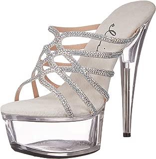 Ellie Shoes Womens 609-SELENA Rhinestone