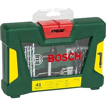 Bosch V-Line - Maletín de 41 unidades para taladrar y atornillar: Amazon.es: Bricolaje y herramientas