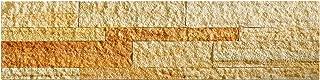 Aspect Peel and Stick Stone Overlay Kitchen Backsplash - Golden Sandstone (5.9