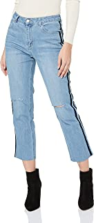 Sass Women's Hunter Velvet Stripe Jeans