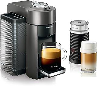 Nespresso by De'Longhi ENV135GYAE Coffee and Espresso Machine Bundle with Aeroccino..