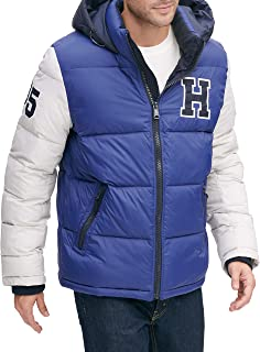 mens Hooded Puffer Jacket (Standard and Big & Tall)