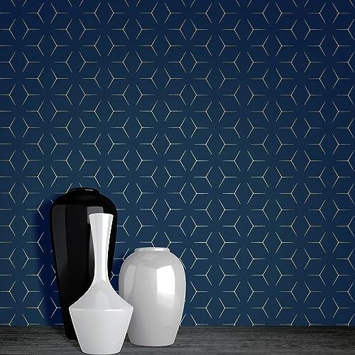Navy Blue Wallpaper Amazoncom