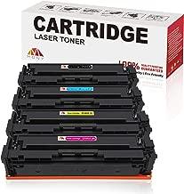Mony Compatible HP 201X 201A CF400X CF401X CF402X CF403X Toner Cartridge (Black, Cyan, Magenta, Yellow) Replacement for HP Color Laserjet Pro M252dw M252n, MFP M277dw M277n M277c6 M274n Laser Printer