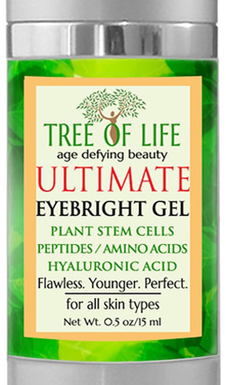 メロディーリーガン斧Tree of Life Beauty アイ ジェル モイスチャライザー ダーク サークル 膨らみ 用