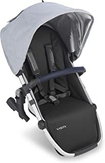 UPPAbaby Vista RumbleSeat - William (Chambray Oxford/Silver/Navy Leather)