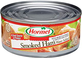 HORMEL Canned Ham, Smoked, 5 Ounce (Pack of 12)