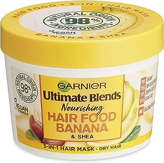 Garnier Ultimate Blends Hair Food Banana 3-in-1 Dry Hair Mask Treatment 390ml