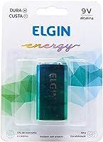 Bateria Alcalina 9V embalagem blister com 1 unidade Elgin, Elgin, Baterias