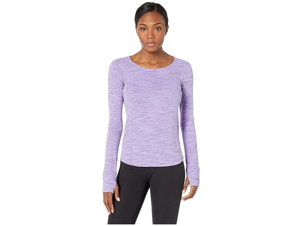 Marmot Taylor Canyon Long Sleeve Top (Paisley Purple) Women