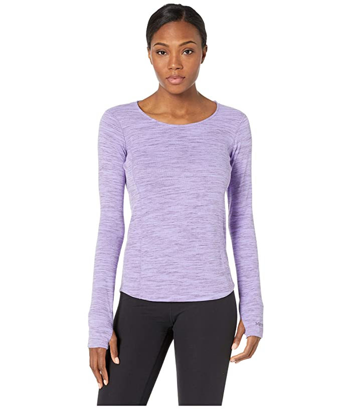 Marmot Taylor Canyon Long Sleeve Top (Paisley Purple) Women