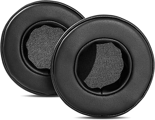 discount YDYBZB Protein Leather Earpads Ear Pads Cushion Memory wholesale Foam outlet online sale Replacement Compatible with Mpow 071 USB Headphones (Black) sale