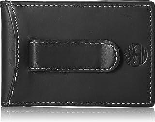 Timberland Men's Minimalist Front Pocket Slim Money Clip Wallet