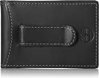 Timberland Men's Minimalist Front Pocket Slim Money Clip Wallet