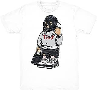 Tinker 3 Shirt Trap Bear Shirts Match Jordan 3 Tinker NRG Sneakers White T-Shirt