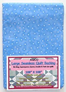 Quilt Backing, Large, Seamless, from AQCO, Light Blue, C49809-A05