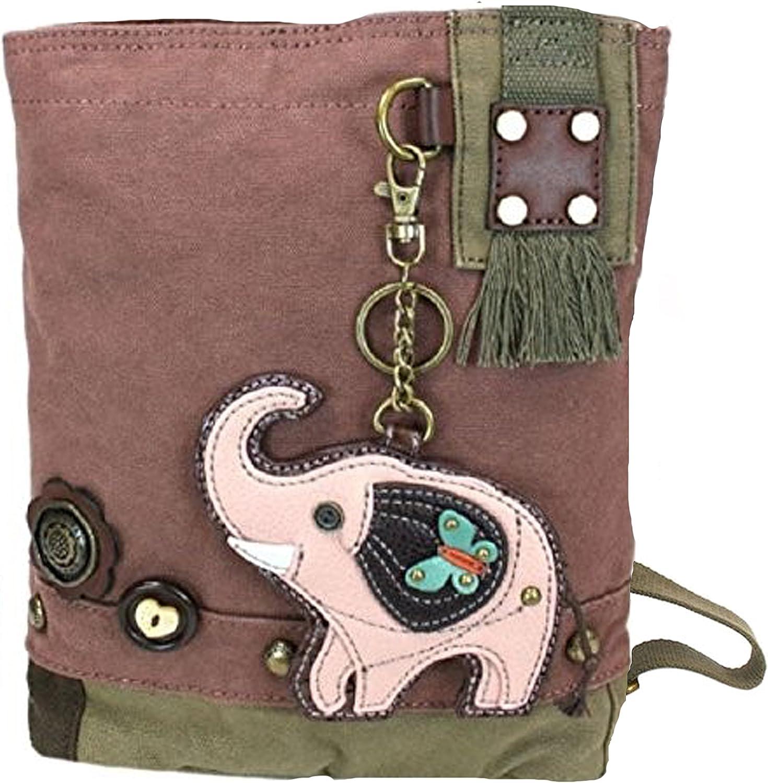 Chala Elephant Patch Crossbody Handbag
