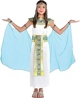 AMSCAN Shimmer Cleopatra Halloween Costume for Girls, Medium, with Included Accessories