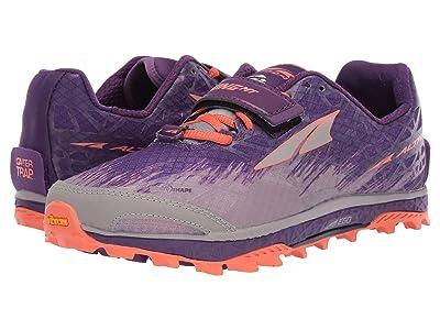 Altra Footwear King MT 1.5 (Plum/Orange) Women