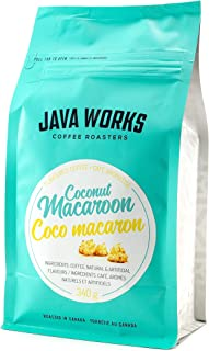 Java Works Coconut Macaroon Flavoured Coffee, 340g