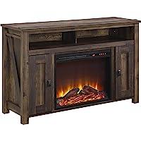 Deals on Ameriwood Home Farmington Electric Fireplace TV Console