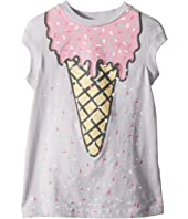 Stella McCartney Kids - Jony Ice Cream Print Dress w/ Scattered Sprinkles (Toddler/Little Kids/Big Kids)