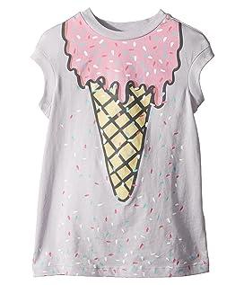 Jony Ice Cream Print Dress w/ Scattered Sprinkles (Toddler/Little Kids/Big Kids)