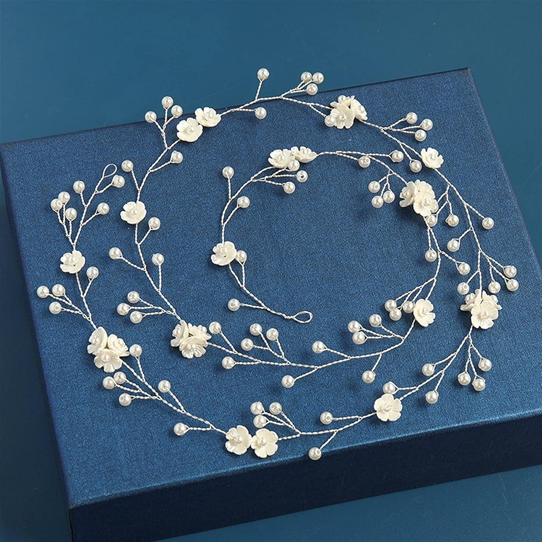 lkpoijuh Max 58% OFF Wedding Hair Accessories At the price of surprise Flower Headband Headpiec Tiara