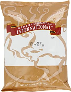 General Foods International Chai Latte Tea Mix (2 lbs Bags, Pack of 6)
