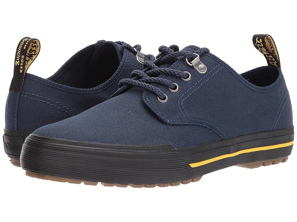 Dr. Martens Pressler 4-Eye Shoe (Navy 14oz. Canvas) Men