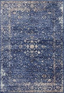 2817 Distressed Blue 8 x 10 Area Rug Carpet Large New