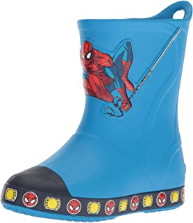 Crocs Kids' Bump It Spiderman Boot Slip-On