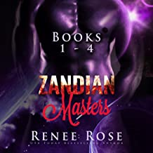 Zandian Masters, Books 1-4: Alien Warrior Romance