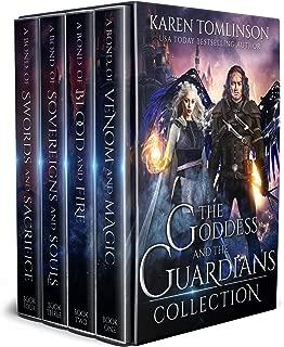 The Goddess and The Guardians Boxset: The Complete Romantic Fantasy Quartet