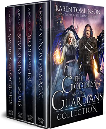 The Goddess and The Guardians Boxset: The Complete Romantic Fantasy Quartet (English Edition)