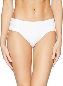 413df2d091009 Tommy bahama pearl high waist shirred bikini bottom black | Shipped ...